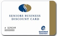 Senior's Business Discount Card
