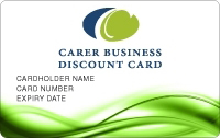 Carer's Business Discount Card