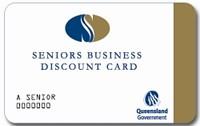 Senior's Business Discount Card